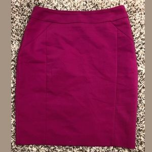 H&M pink pencil skirt size 8 EUC